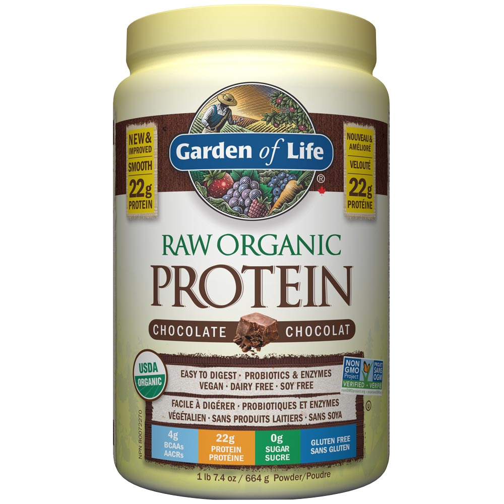 : Garden of life RAW Organic Protein, Chocolate