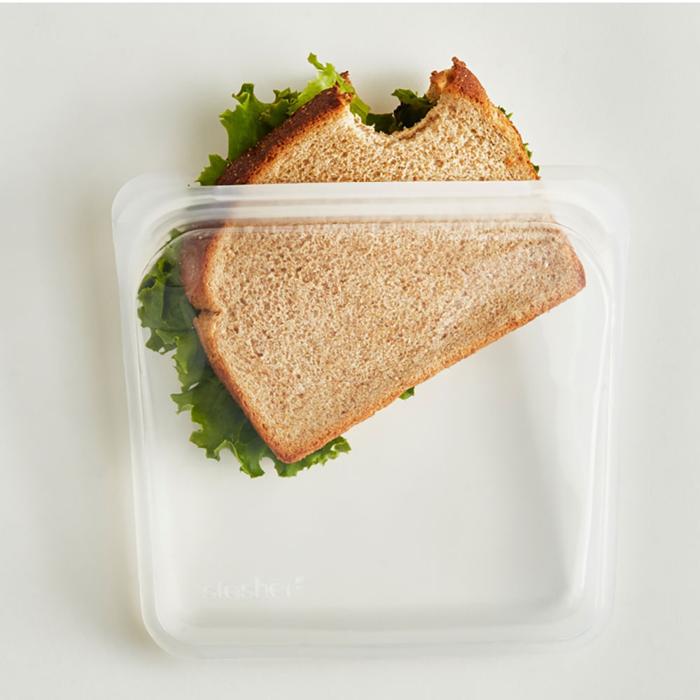: Stasher Sandwich Bag, Clear