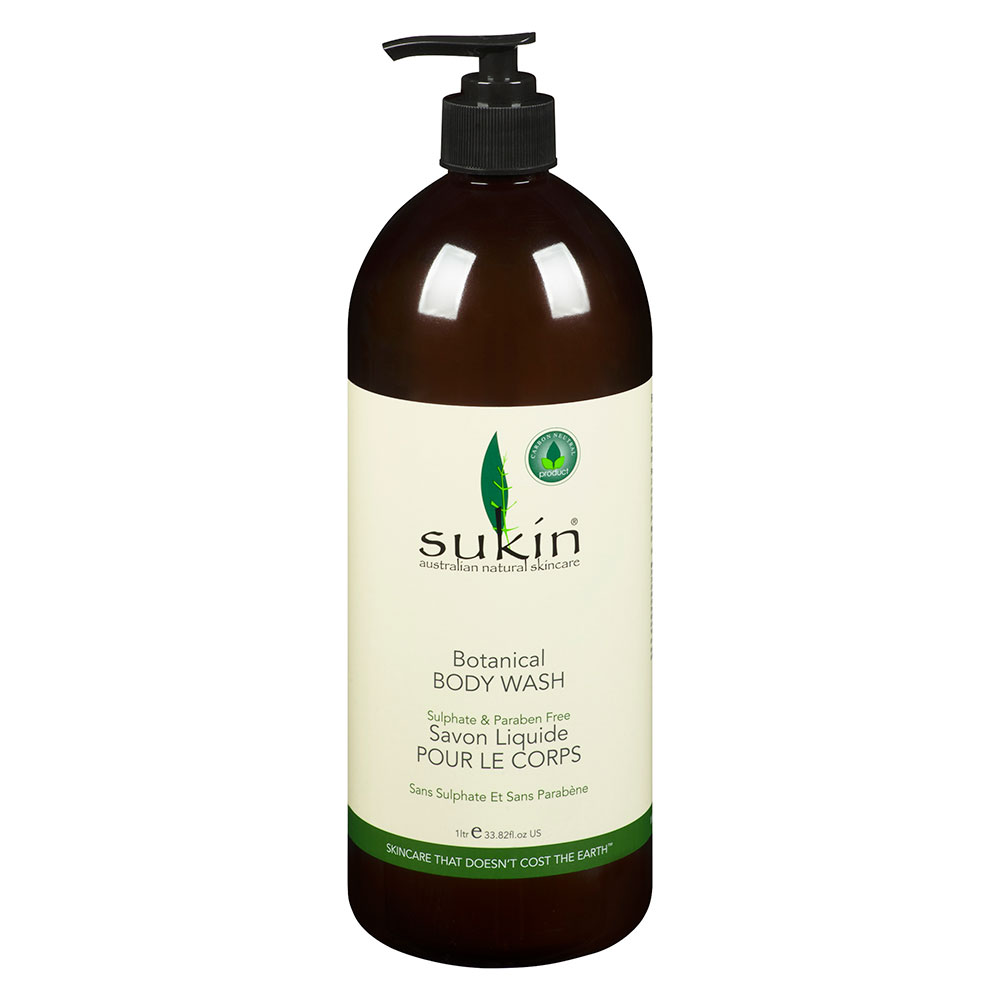 : Sukin Signature Botanical Body Wash 1L